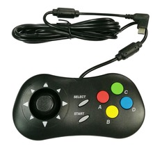 2pcs Retro อาเขตมินิเกมวิดีโอเกม Pad Controller Handheld สำหรับ NEOGEO สำหรับ SNK เกมคอนโซล