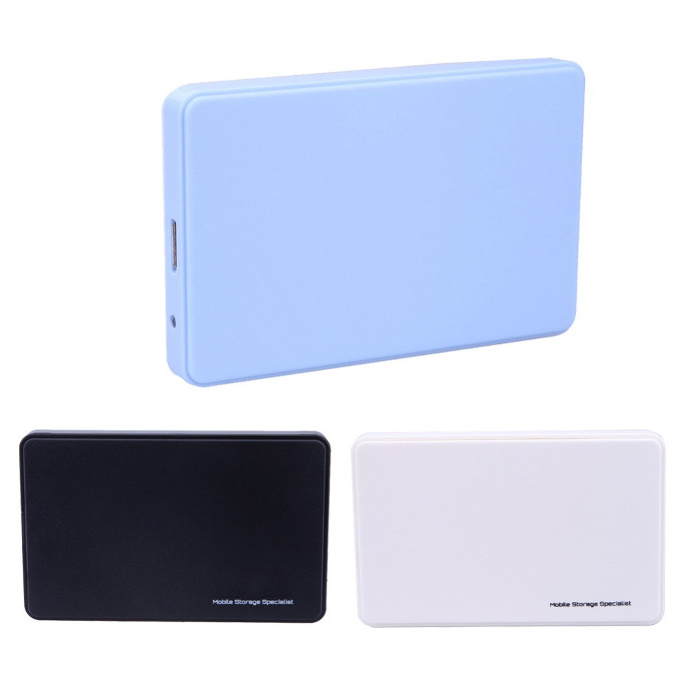 High Speed Mobile USB 3.0 to SATA HDD Enclosure HDD Hard Drive External Enclosure Case HDD Box For Windows/Mac OS 3 Colors orico 2 5 usb 3 0 sata hd box hdd hard disk drive external hdd enclosure transparent case tool free 5 gbps support 2tb