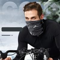 Esportes ao ar livre pescoço da motocicleta máscara facial gelo tecido de esqui snowboard tampão vento polícia ciclismo balaclavas máscara facial tático