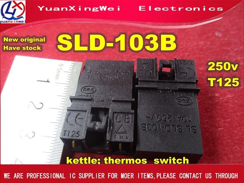 Free Shipping 1pcs/lot SLD-103B 10a 250v T125