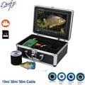 9 zoll DVR Recorder 1000TVL Unterwasser Angeln Kamera 15 M 30 M 50 M 30 stücke LEDs Für Eis/ meer/Fluss Fisch Finder Für Angeln Kamera