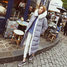 Large Fur Collar Winter Coat Women Nice New Long Winter Jacket Women Warm Thick Parka Cotton Down Women's Winter Jacket AW1135