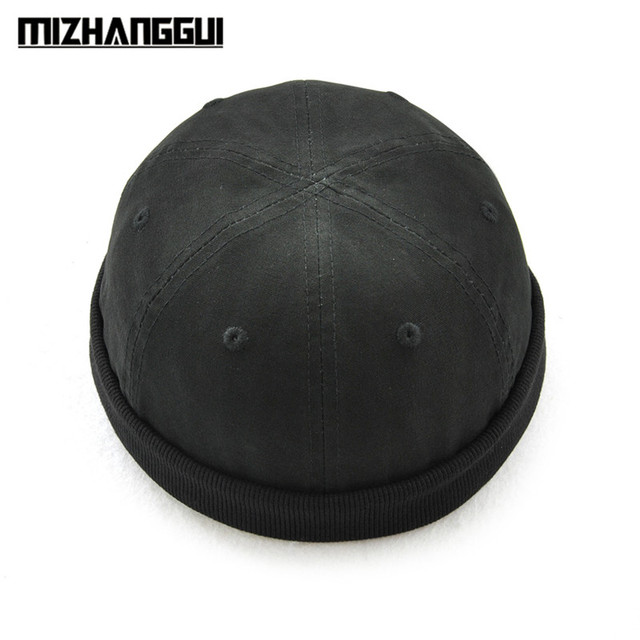 Fashion Design Round Hat Unisex Snapback Caps Solid Color Fashion Men s Hats f8b28239884