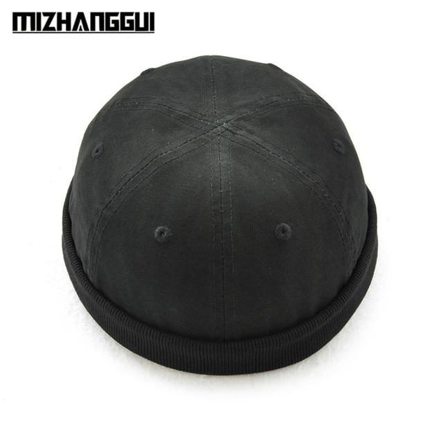 56454139ef7 Fashion Design Round Hat Unisex Snapback Caps Solid Color Fashion Men s Hats