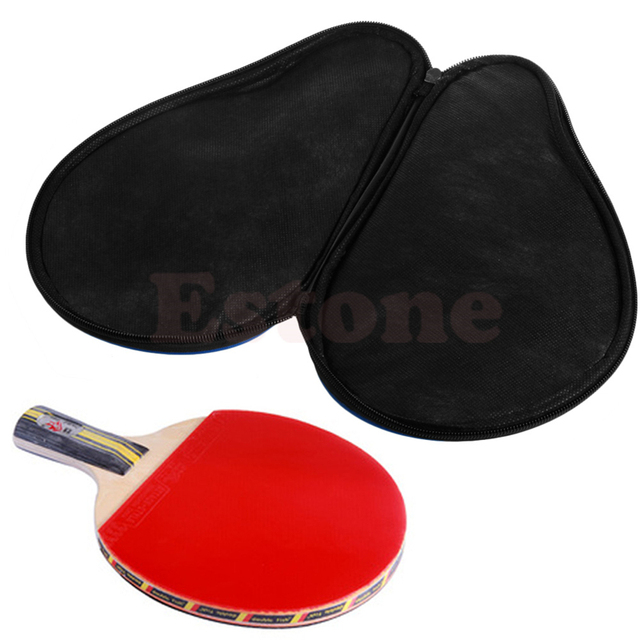 THINKTHENDO Portable Waterproof Table Tennis Racket Case Bag For Ping Pong  Paddle Bat Cover