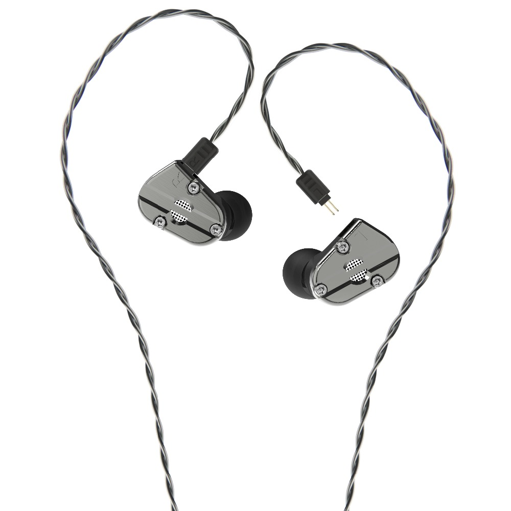 Revonext QT5 1DD + 1BA Híbrido No Ouvido Fone de Ouvido de ALTA FIDELIDADE DJ Monito Correr Desporto QT2 Headplug Gancho Earbud do Fone de Ouvido Earplug QT3 RX8