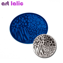 Stamping Plate Animals-Nail-Template Polish Leopard Manicure-Tools Transfer Print Beauty