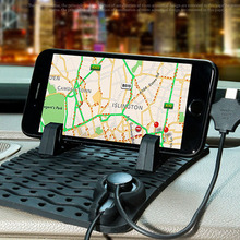 Auto Temporary Car Parking Card Anti-Slip Car Dashboard Sticky Pad Non-Slip Mat GPS Phone Holder For Phone GPS Non Slip Pad