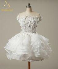 Платье из органзы недорогие короткие платья для homecoming выпуск