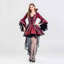 extravagant Gothic Sexy Costume Halloween Dress Sexy Witch Vampire Costume Women Masquerade Party Cosplay Halloween Costume