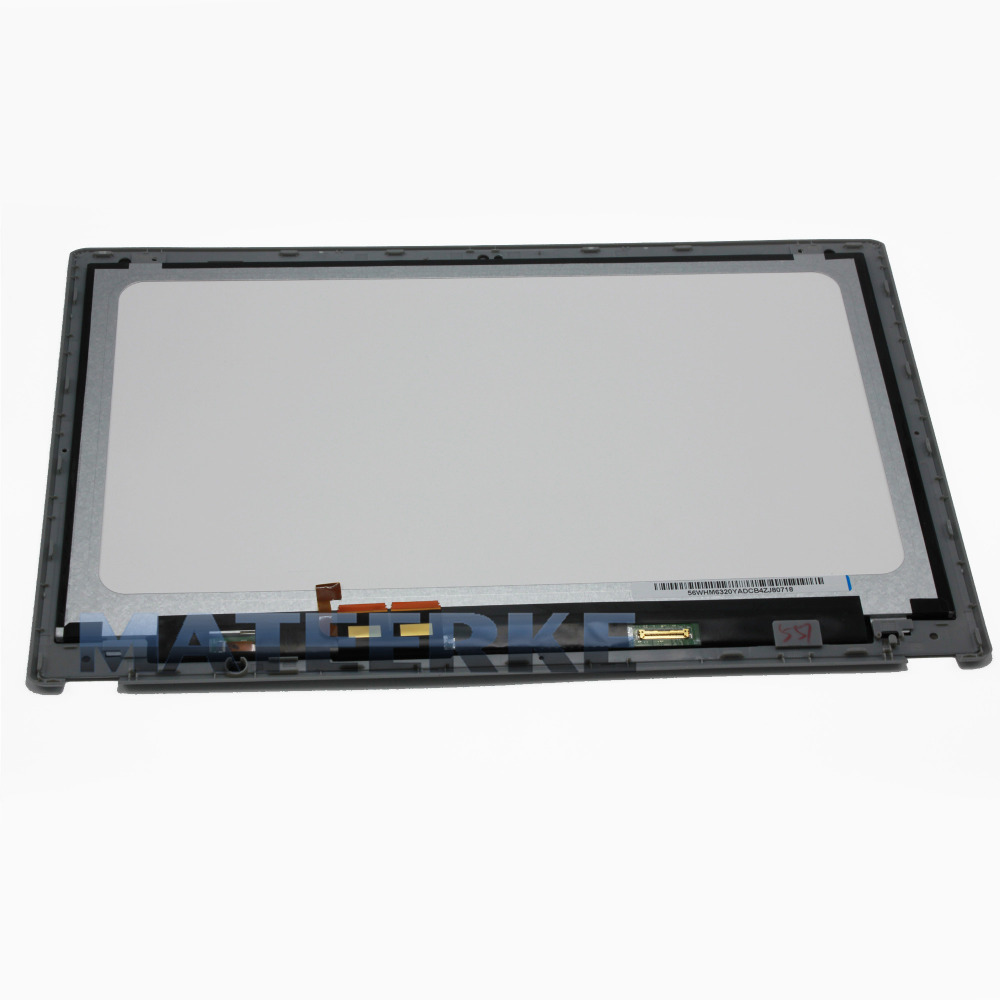 Brand new 15.6 LCD Touch Screen Digitizer Assembly For Acer Aspire V5-571P-6407 6400 6464 with Bezel