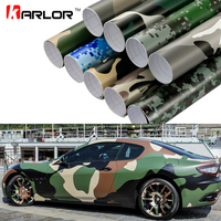 Car Styling Large Digital Woodland Green Camo Camouflage Vinyl Film DIY Stickers Automobiles Motorcycle Car Wrapping Accessories