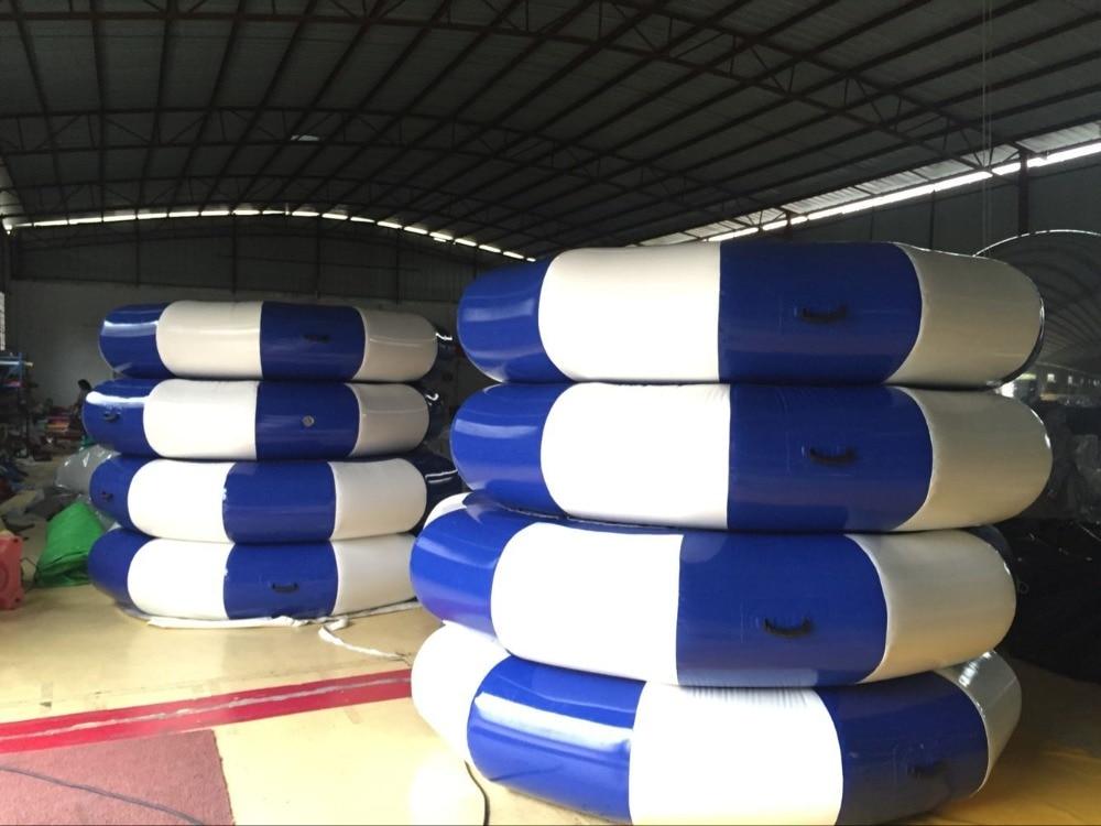 Opustelige Bouncer Outdoor 2.5m Tilpasset Oppustelig Trampolin PVC Presenning Sport Opustelige Legetøj