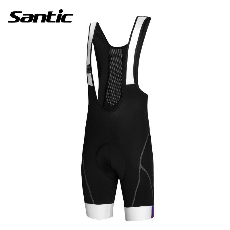 Santic Men/'s Cycling Shorts Bicycle 1//2 Pants Coolmax Padded Bike Riding L-3XL