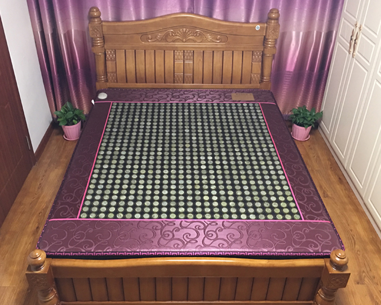 Health Care Natural Jade Cushion Beauty Jade Mattress Heating Therapy Stone Infrared Mattress 3 Size For your Choice