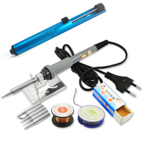 DGKS 60W Power Switch Adjustable Temperature Electric Soldering Iron Set Welding Solder Station Heat Pencil Repair