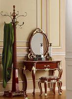 Мебель ProCARE зеркало цвета слоновой кости белый туалетный столик стиль комод
