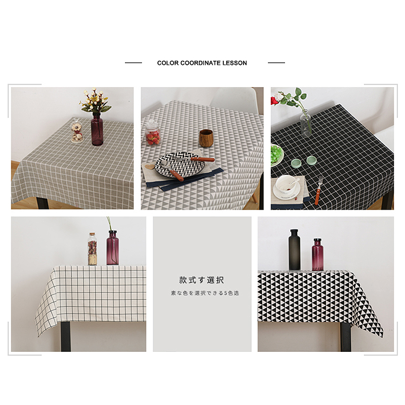Pastoral Tablecloths мақта мата зығырдан - Үй тоқыма - фото 5
