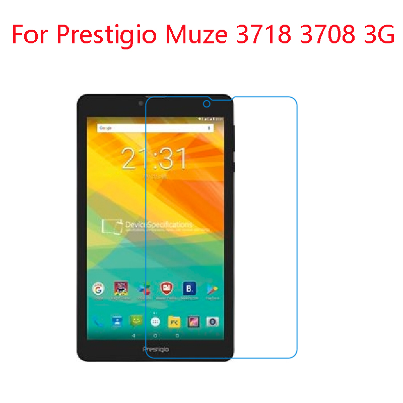 (2-pack) For Prestigio  Muze 3718,3408,3508,5001,5002,5008,5011,5018  Impact Resistant Nano TPU Flexible Screen Protector