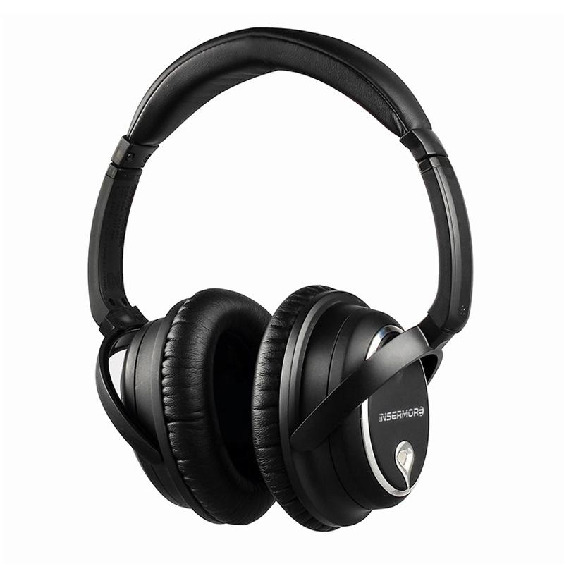 Prix pour Professionnel Acoustique Active Noise Cancelling Casque Super bass HiFI écouteurs de Réduction Du Bruit Casque Avec Microphone