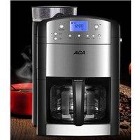 Автоматическая кофе машина 1.25L офис изоляции капельного чайник шлифовальные кофемолка цифровой дисплей AC M125A
