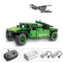 Qihui Military Theme German Tank Model Building Blocks Remote Control RC Army Tank WW2 Vehicles DIY Enlighten Bricks Toy For Kid цена 2017