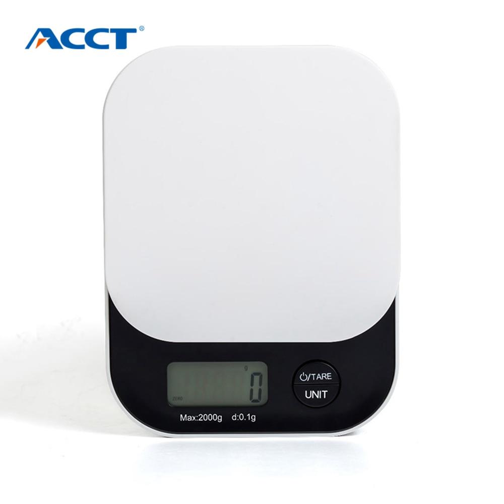 Jídlo Digitální váhy Elektronická mini kuchyňská váha 2KG 5KG Poštovní nástroje na vaření Platforma Váhy pro vážení diamantů