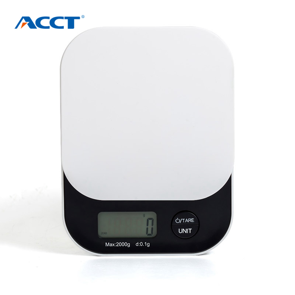 Pesi digitali per alimenti Bilancia da cucina elettronica 2KG 5KG Piattaforma per utensili da cucina postale Bilancia diamantata