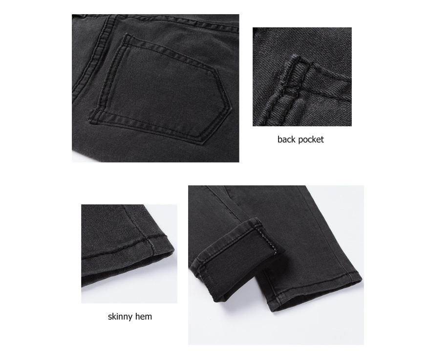 Women's High Waist Jeans Skinny Jeans Woman Plus Size Black Mom Jeans Femme Pencil Denim Pants Vaqueros Mujer Spodnie Damskie 16