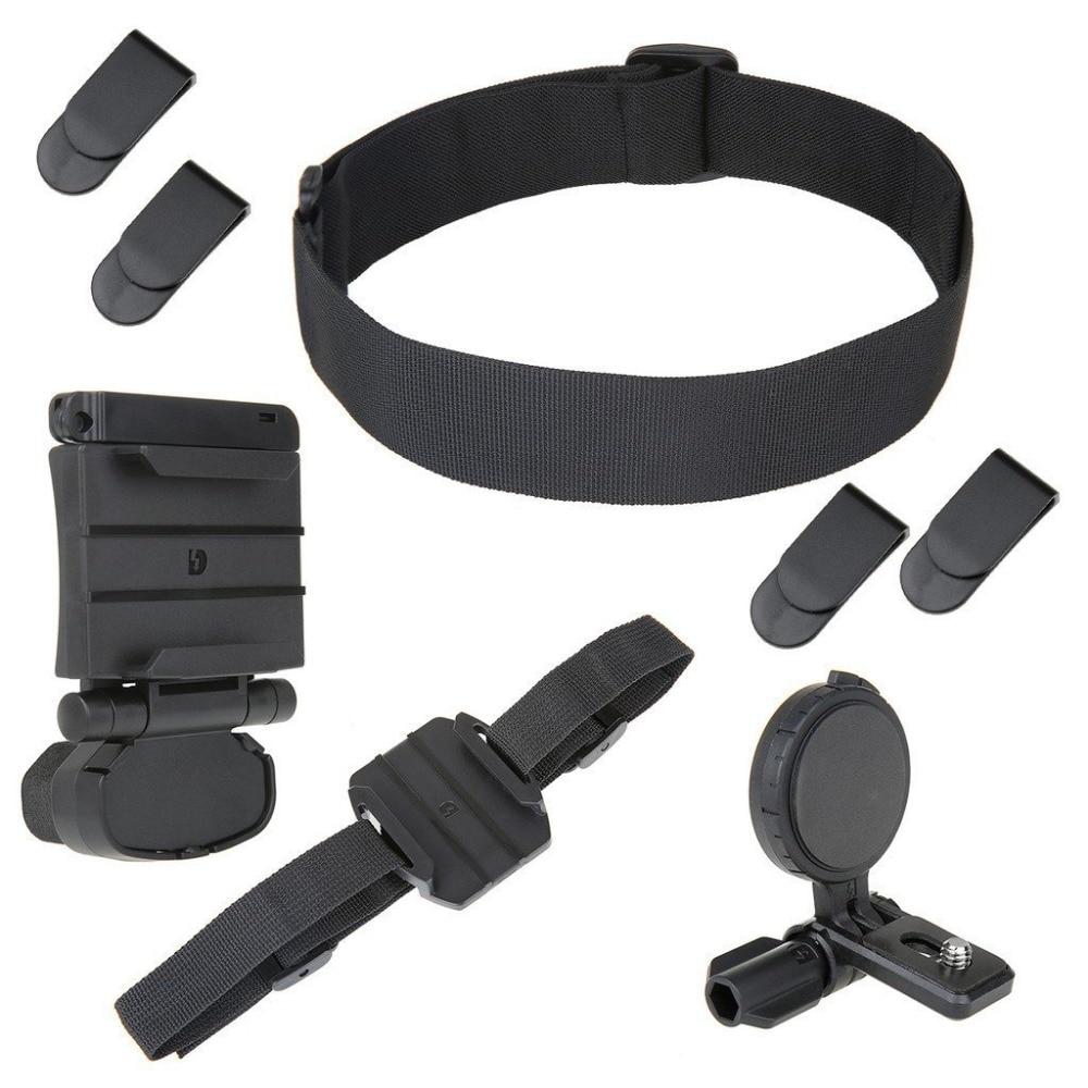 SETTO Universel Tête Kit de Montage pour Sony Action Caméra HDR BLT-UHM1 AS30V/AS100V/AS15