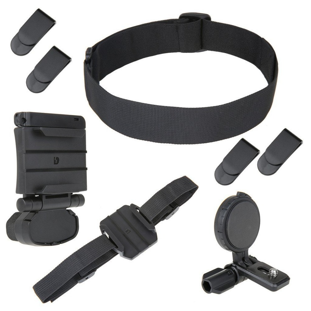 SETTO Universal Head Mount Kit for <font><b>Sony</b></font> Action Camera <font><b>HDR</b></font> BLT-UHM1 AS30V / AS100V / AS15 S50R <font><b>AS300R</b></font> X3000R <font><b>HDR</b></font>-AS300 <font><b>HDR</b></font>-AS200V image