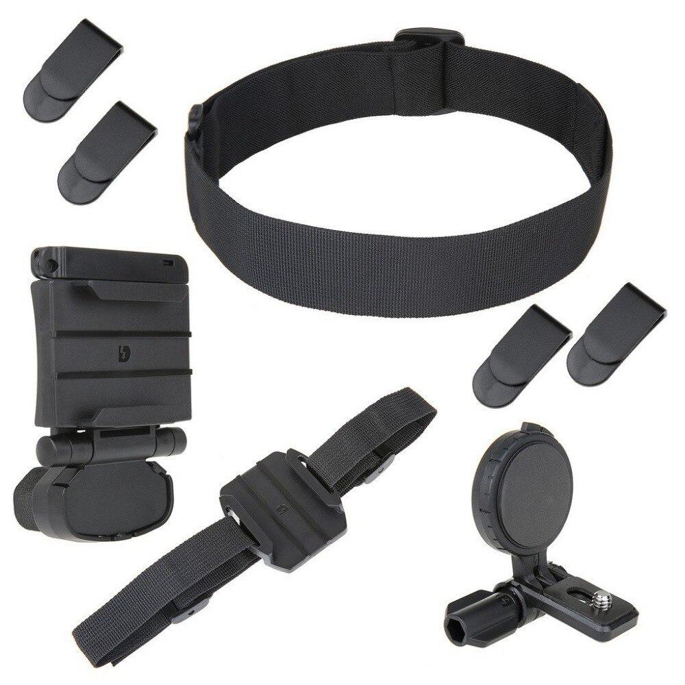 Setto Kit de montaje de cabeza universal para Cámara de Acción Sony HDR BLT-UHM1 AS30V/AS100V/AS15