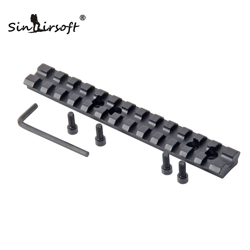 "Jakt Mossberg 500 Scope Mount 5.5 ""x0.78"" Weaver Mount Picatinny Rail For Shotgun DIY Rifle Scope Jakt Tilbehør"