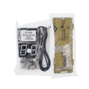 Image 4 - DIY Kits Speech Version of Digital Electronic Clock 51 Single chip Electronic Clock DIY LED Suite YD 030(no battery)
