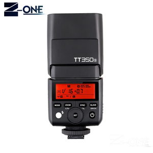 Image 2 - Godox TT350S TT350 GN36 2.4G TTL HSS מיני פלאש Speedlite + XPro S פלאש משדר טריגר ערכת עבור sony ראי מצלמה