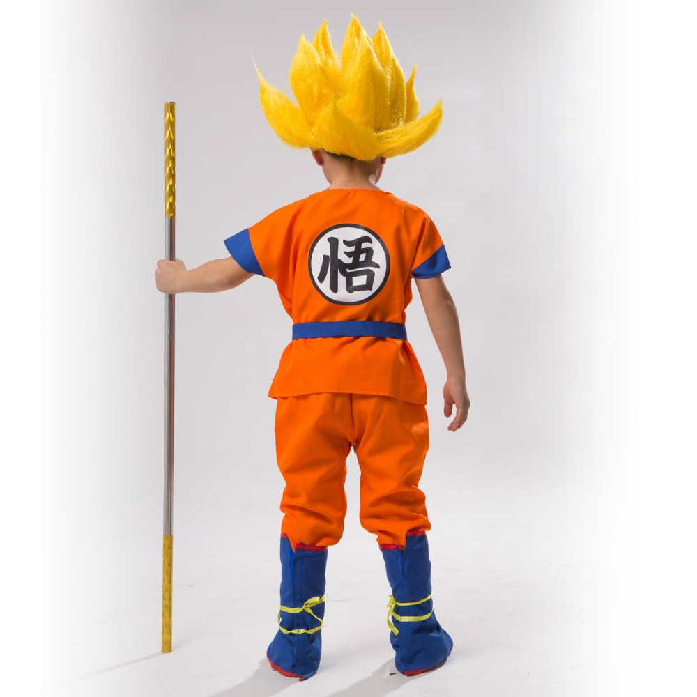 Dragon Ball Sun Wukong costumes Children's Day Carnival Sun Wukong costumes Fantasy Comic Movie Carnival Party Purim Halloween