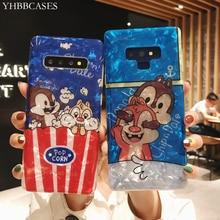 Fundas blandas de ardilla Piquant de dibujos animados YHBBCASES para Samsung Galaxy S10 5G S9 Plus S8 Note 10 Plus 8 9 Conch cubierta de teléfono de moda