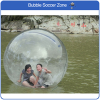 Free Shipping 2m Water Walking Ball Giant Balloons Zorb Inflatable Human Water Ball Inflatable Ball Dancing Ball Outdoor Sport