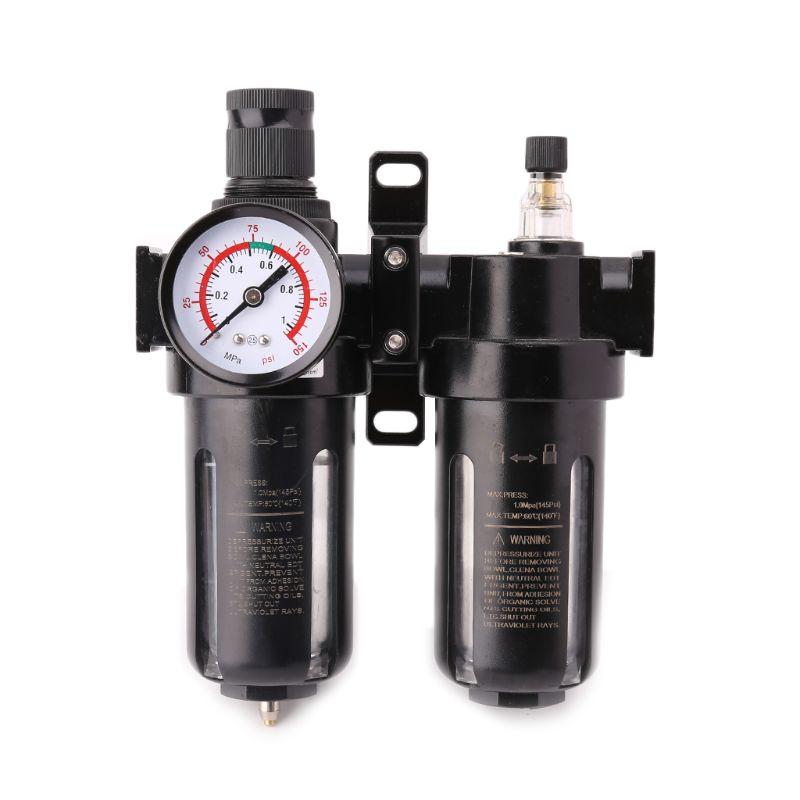Aggressiv Wasser Öl Separator Pneumatische Luftfilter Regler & Öler Kombinationen