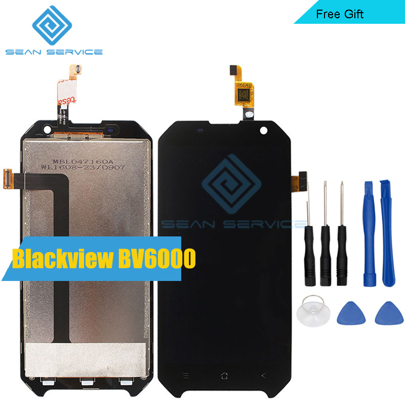 ФОТО For Blackview BV6000 LCD Display and TP Touch Screen  Digitizer Assembly lcds +Tools 4.7