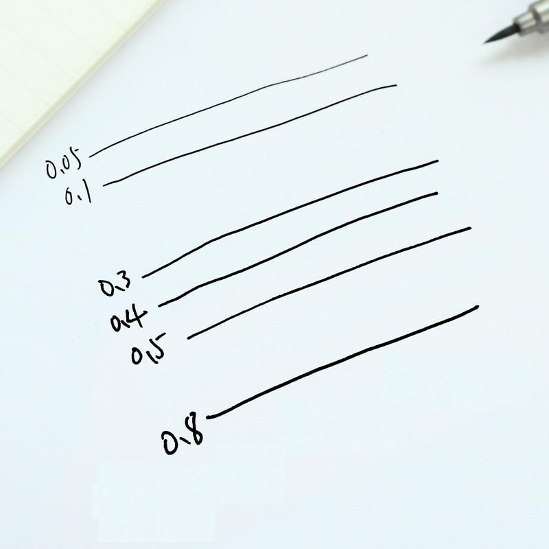 6 հատ / Lot Միկրո գծի նշման գրիչ մանգայի - Գրիչներ, մատիտներ և գրելու գործիքներ - Լուսանկար 3