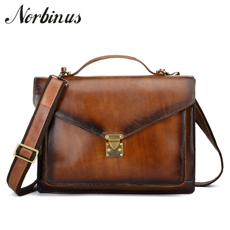 Crazy horse genuine leather men bags briefcases handbag shoulder crossbody bag men messenger bag vintage Real leather laptop bagCrazy horse genuine leather men bags briefcases handbag shoulder crossbody bag men messenger bag vintage Real leather laptop bag