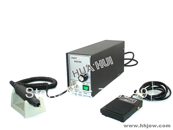 Jewelry Craft master patching machine Jewelry Casting defects patching machine complete with handpiece and foot control