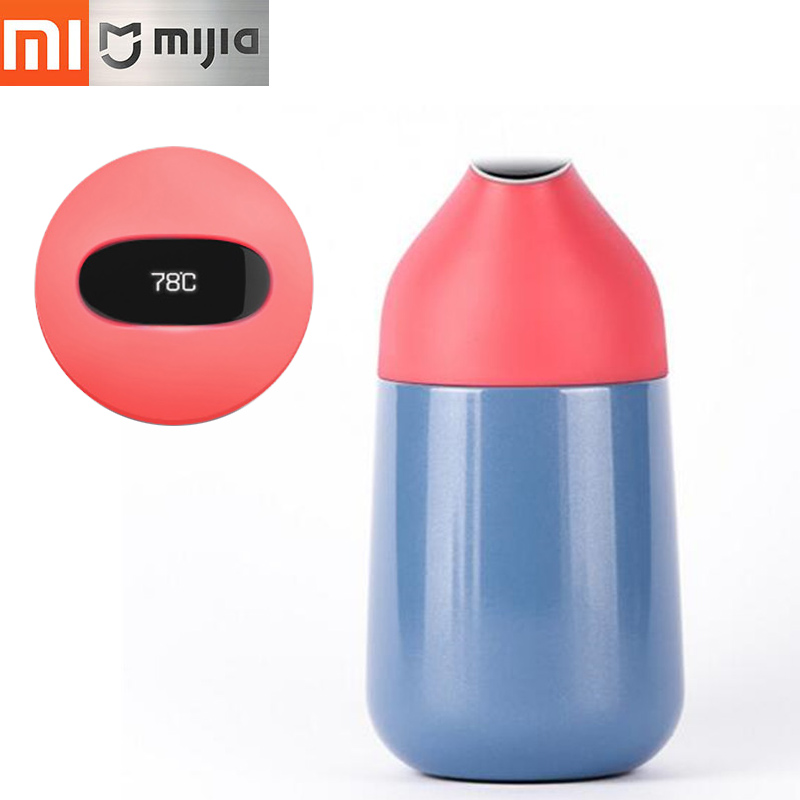 Xiaomi thermal bottle Kiss Kiss Fish CC mini smart Cup Vacuum insulation bottle smart Temperature Sensor OLED display Screen