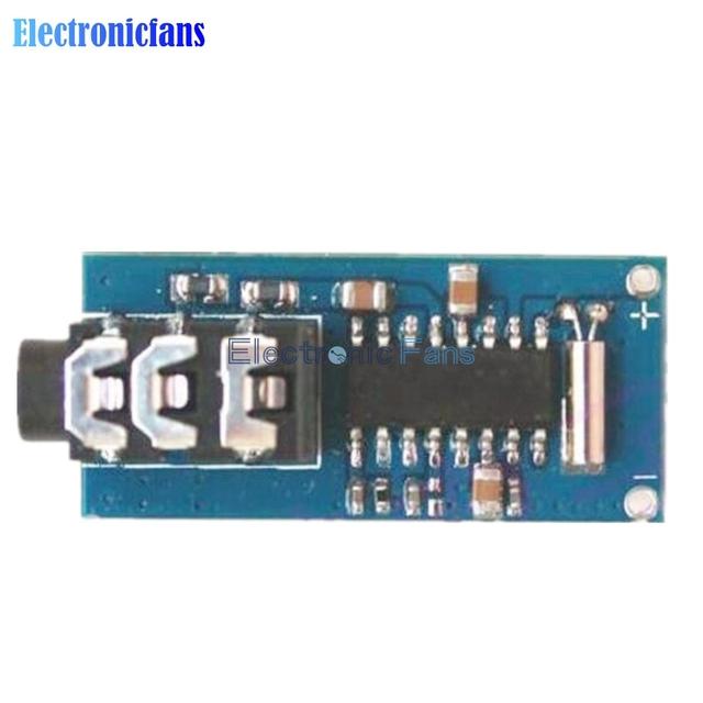 Freies Verschiffen 1,8 V-3,6 V MCU Digitale Frequenzstabilisierung Stereo Fm-radio-empfänger-modul 70-108 Mhz Micrcontroller GS1299