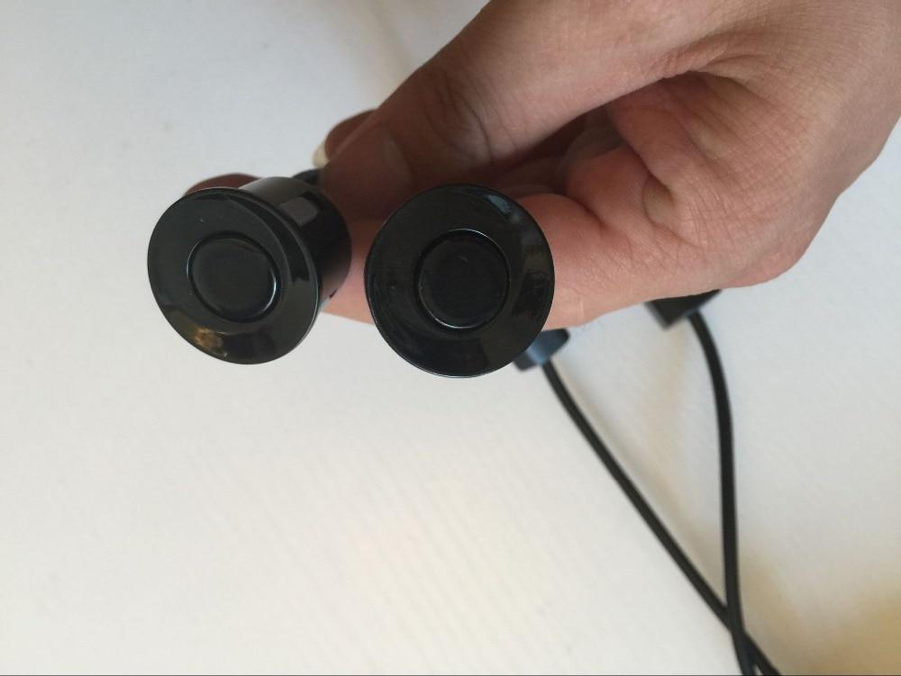 Detector de pista carro assistente de estacionamento LEVOU Luz de Aviso Campainha de Alarme detector de ponto cego para todos os 12 V do carro de Condução Segura styling - 4
