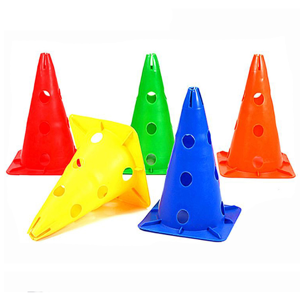 Team Sports Devoted 18cm 7inch Football Training Traffic Cones Activity Cones Skating Skateboard Soccer Training Multipurpose Sport Equipment At Any Cost