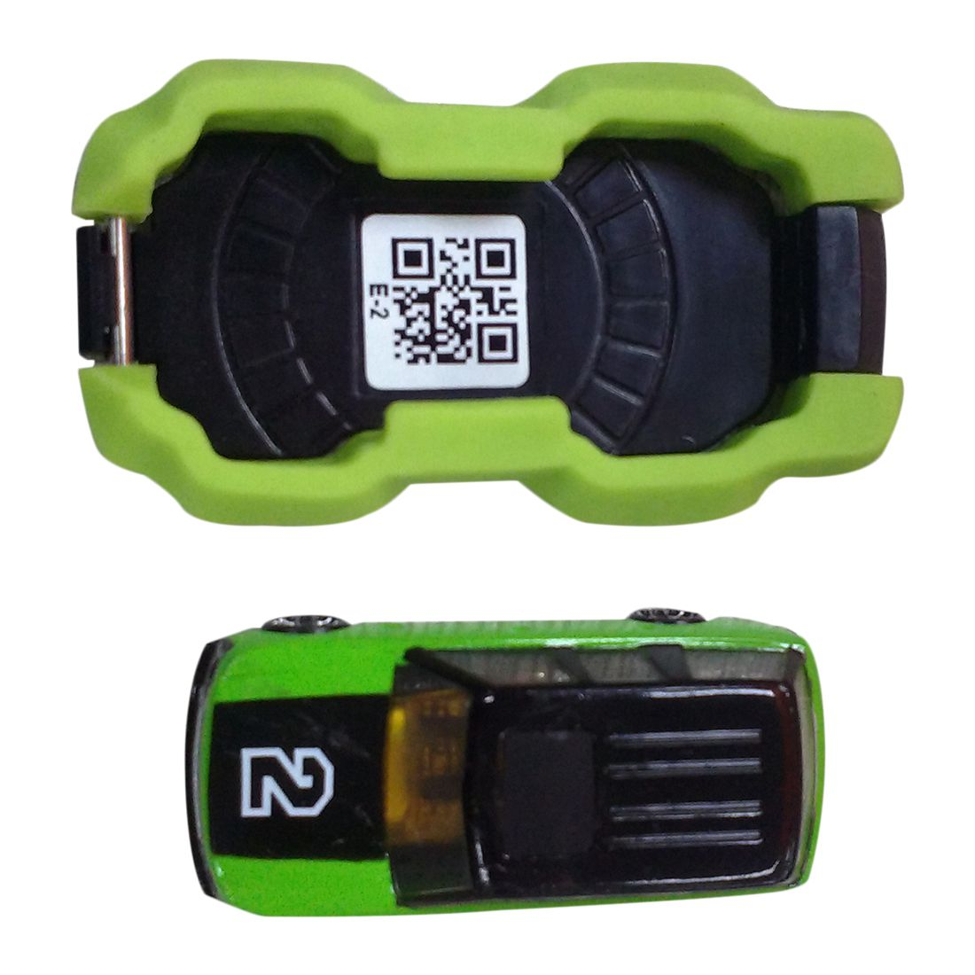 HOT SALE Creative toy phone AR aerial car model mobile phone racing sports game green