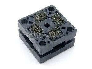 Image 4 - QFP64 TQFP64 LQFP64 PQFP64 OTQ 64 0.5 01 Enplas QFP IC Test Burn In Socket 0.5mm Pitch