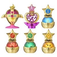Sailor Moon Gashapon Prism Power Dome Part 1 Water Globe Complete Set 6 100% Original